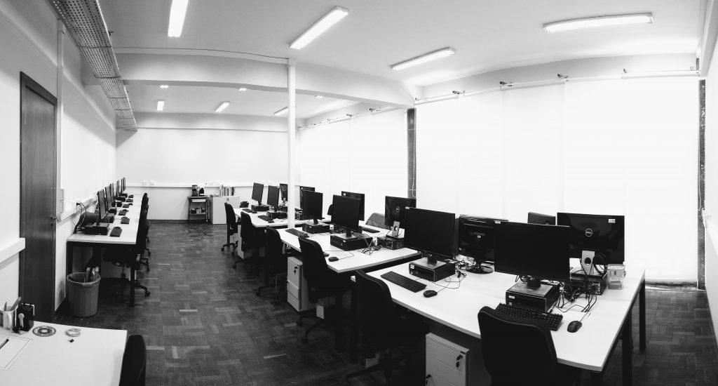Vista do Laboratório HiPES